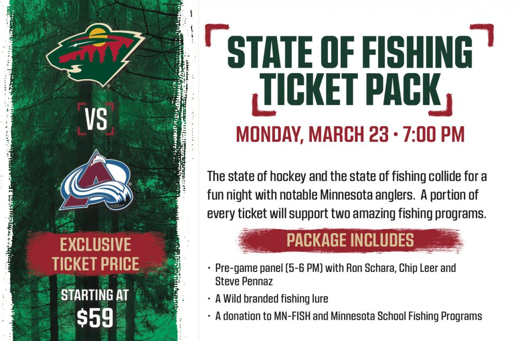 Minnesota Wild partnership flyer